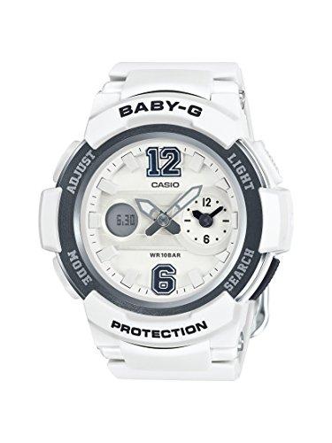Casio Damen Analog-Digital Quarz Uhr mit Resin Armband BGA-210-7B1ER