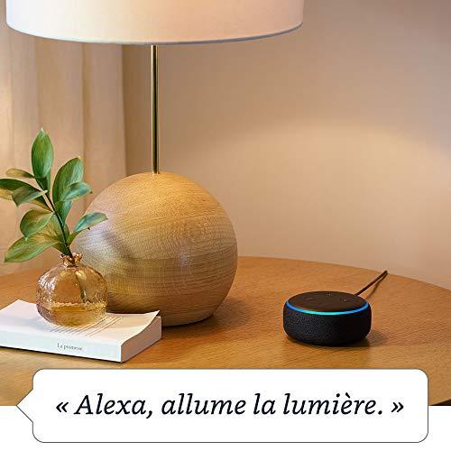Nouvel Echo Dot (3ème génération), Tissu anthracite + Amazon Smart Plug (Prise connectée WiFi), Fonctionne avec Alexa 26