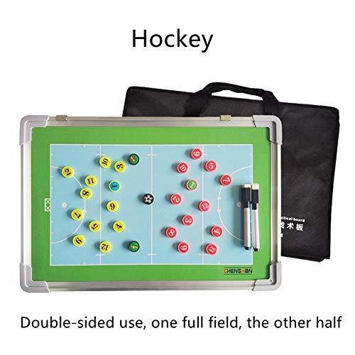 Hockey su Ghiaccio A Due Lati Magnetic Tactic Coaching Board Atleta Competition Comando Riscrivibile