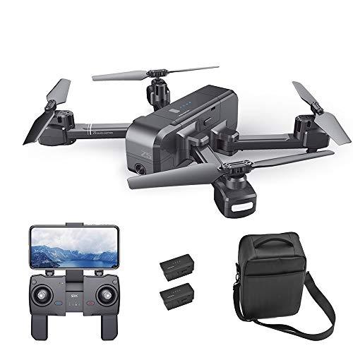 Goolsky SJ R / C Z5 GPS Drone RC con Telecamera 1080P grandangolare WiFi FPV Ritorno Automatico Seguimi Gesture Foto RC Quadcopter w / 2 Batteria e Borsa