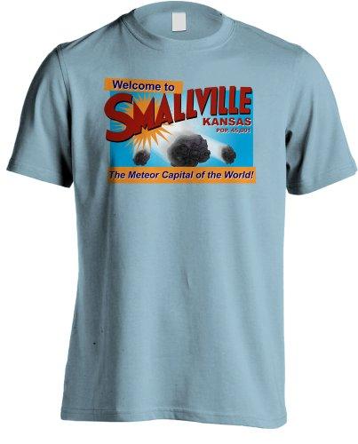 Smallville - de Estrellas Fugaces de Capital of The World TV T-Shirt diseño con Texto en inglés
