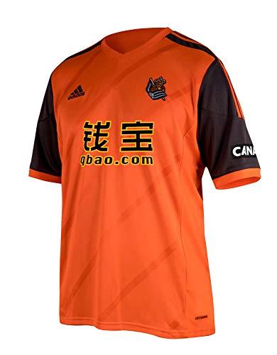adidas 2014-2015 Real Sociedad Away Football Soccer T-Shirt Camiseta (Kids)