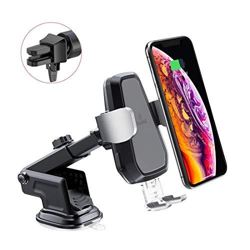 andobil-Wireless-car-Charger-automatisch-Auto-drahtloses-Ladegert-sowie-Auto-handyhalter-10W-75W-5W-induktiv-schnelles-Ladestation-Air-Vent-Dashboard-Kompatibel-fr-iPhone-XsXs-Max-X-88-Plus-Samsung-Ga