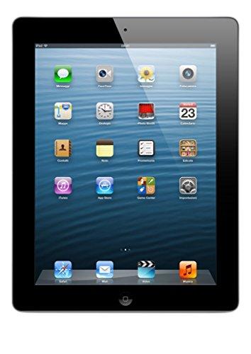 Apple iPad Retina Tablet, Colore Nero (Ricondizionato)
