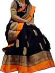 Bankcroft Export Cotton Saree With Blouse Piece