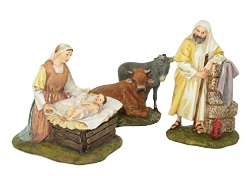 Statuine presepe : Natività linea Martino Landi per presepio da cm 12