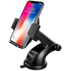 Kaufen Beikell KFZ-Halterung für Smartphone mit Ein-Tasten-Freigabe und Stark haftendem Gel-Pad für iPhone X/8/7/7Plus/6S/6S Plus/6/5S/5C, Samsung Galaxy S7/S6/Note 5/4, Huawei und Mehr