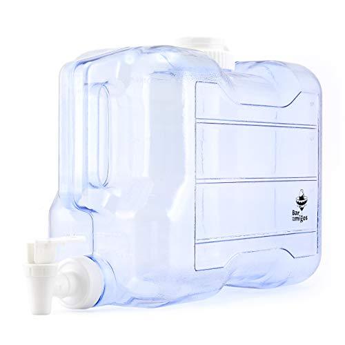 Barra Amigos - Dispensador de tapón de agua para escritorio, plástico, ideal para oficina, camping, zumo, cóctel