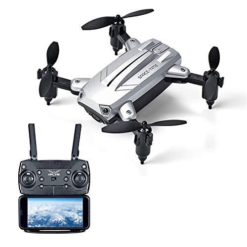 ERKEJI Droni Velivolo di Telecomando Pieghevole Quattro-ASSE Pieghevole Mini Drone Pneumatico Fisso...