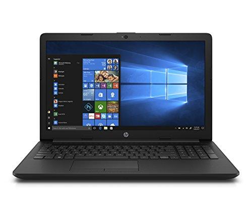 """HP Notebook 15-da0014ns - Ordenador Portátil 15.6"""" HD (Intel Core i3-7020U, 4 GB RAM, 500 GB HDD, Intel Graphics, Windows 10), Color Negro - Teclado QWERTY Español"""