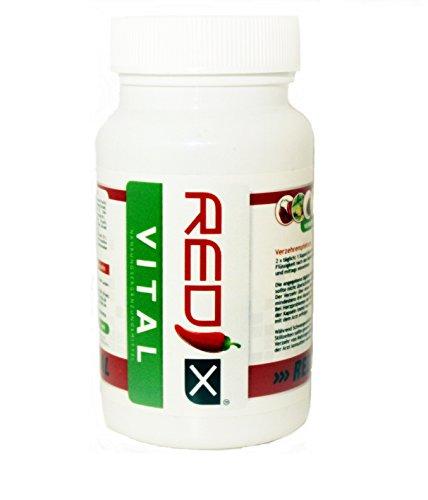 Abnehmen Pillen Redix Vital mit 60 Diät Kapseln für eine effektive Fettverbrennung/natürlich und schnell Abnehmen