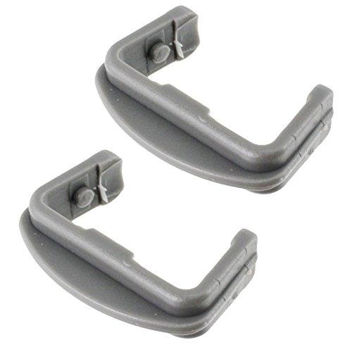 Spares2go basket rail tappo anteriore per Howdens HJA8362HJA8640lavastoviglie (confezione da 2)