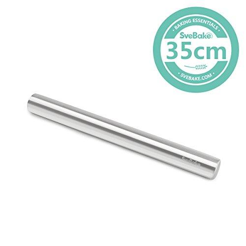 Acciaio inossidabile impasto - acciaio inox Matterello Rolling Pin - Mattarello perfetto per...