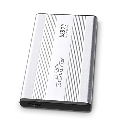 ASUME - Hard Disk Esterno Portatile, 1 TB/2 TB, USB 3.0, per PC, Mac, Laptop, PS4, Xbox One e Smart...