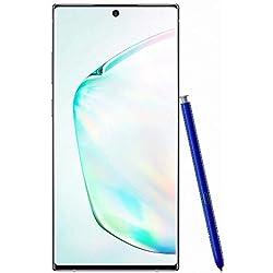 Samsung Galaxy Note 10+ - Smartphone Portable débloqué 4G (Ecran: 6,8 pouces - 256 Go - Double Nano-SIM - Android) - Argent - Version Française