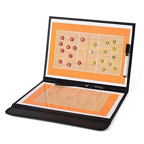ALIXIN-CP080 volleyball coaching pieghevole strategia insegnamento Portablocco con lavagnetta...