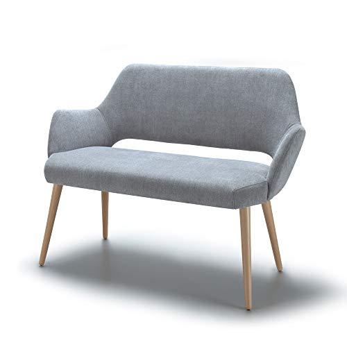 Marchio Amazon -Alkove, divano decorativo modello Andre, colore grigio chiaro