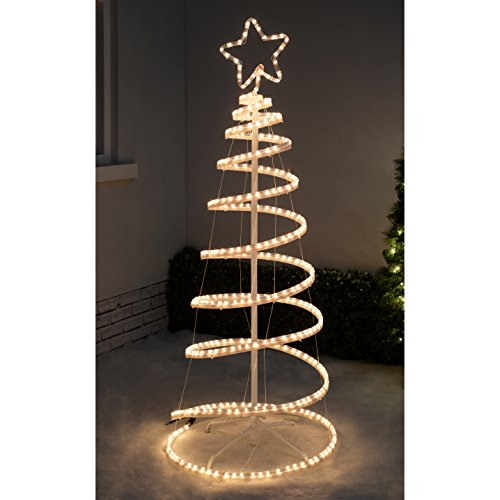 Werchristmas 5ft 150 cm flashing 3d spiral christmas tree rope light werchristmas 5ft 150 cm flashing 3d spiral christmas tree rope light silhouette aloadofball Gallery