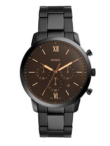 Fossil Orologio Cronografo Quarzo Uomo con Cinturino in Acciaio Inox FS5525