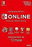 Abonnement Nintendo Switch Online - 12 Mois | Nintendo Switch - Version digitale/code | Code jeu à télécharger