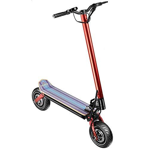 ZDDOZXC Scooter elettrico, motore pieghevole ultraleggero 36V / 350W, scooter elettrico portatile...