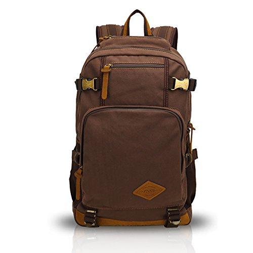 FANDARE Classic Vintage esterna Viaggiare Zaino Trekking College School Daypacks portatile borsa di...