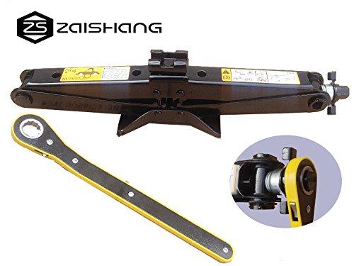 ZS ZAISHANG - 11-45CM 2T Ratschenschlüssel mit Schwinghebel Steckschlüssel,Scissor Jack