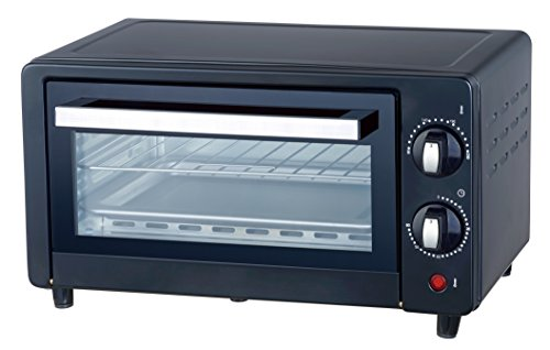 Ardes AR6210B Forno Elettrico Compatto Gustavo 10 Litri Doppio Vetro con Accessori Nero, 800 W