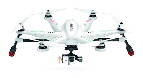 Walkera 25161 - Tali H500 Hexacopter FPV 3D Gimbal Devo12E mit HD Cam, weiß