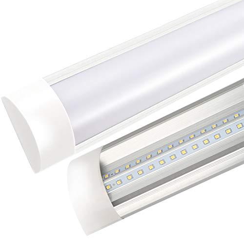 Tubo LED Luci Lampada con Coperchio per Officina Garage Ufficio Supermercato Officina Parcheggio...