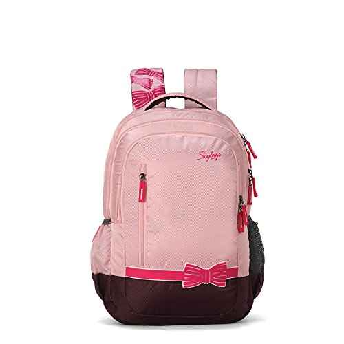 Skybags Bingo Plus 35.9856 Ltrs Pink School Backpack (SBBIP06PNK)