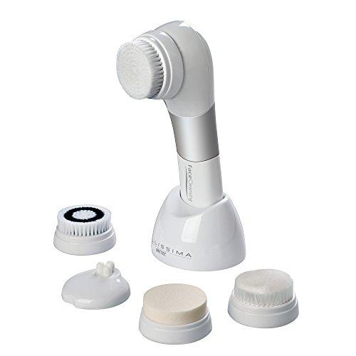 Imetec Bellissima Face Cleansing, Spazzola per la pulizia del viso con tecnologia a Vibrazione Sonica, Grigio