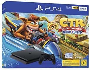 PlayStation 4 Konsole - Crash Team Racing Nitro-Fueled Bundle (Slim, 500GB, Jet Black)