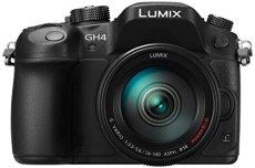 Panasonic Lumix GH4R + H-FS14140 Cuerpo MILC - Cámara digital, 16,05 MP, 4608 x 3456 Pixeles, Live MOS, 4K Ultra HD, Pantalla táctil, Negro