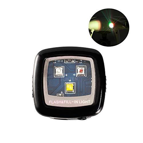 Funten, luce stroboscopica per drone Cree ad alta intensità per voli notturni, kit per drone per...