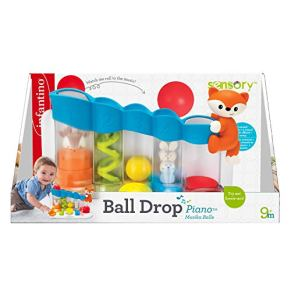 Infantino Sensory Ball Drop Piano sensitivo, Multicolor (930-216428-09)