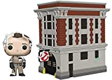 Funko- Pop Vinyl: Movies: Ghostbusters: Peter w/House, Multicolore, 39454
