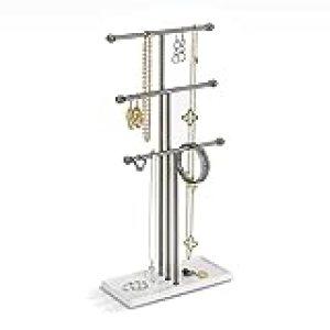 Umbra 299330-491 Colgador de joyas Trigem Nickel