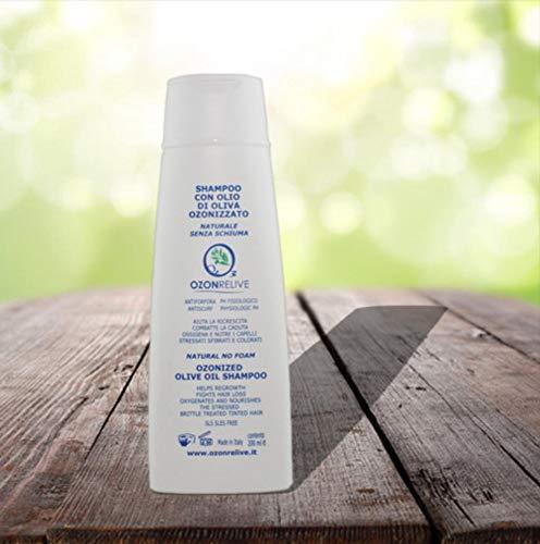 Ozonrelive - Shampoo con olio di oliva ozonizzato