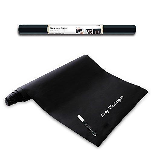 Lavagna Adesiva Riutilizzabile Polipropilene - Carta Lavagna Adesiva - 43 cm x 210 cm + 1 Pennarello...