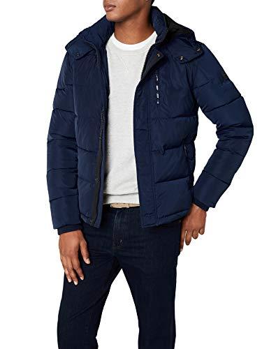 Wrangler Protector Jacket Giacca, Blu (Navy 35), X-Large Uomo