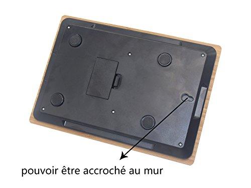 balances cuisine balance lectronique 5kg 1g en bambou haute pr cision sensible fonction tare. Black Bedroom Furniture Sets. Home Design Ideas