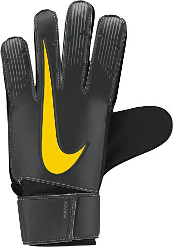 Nike Nk GK Match-Fa18, Guanti Portiere Uomo, Anthracite/Black/Opti Yellow, 10