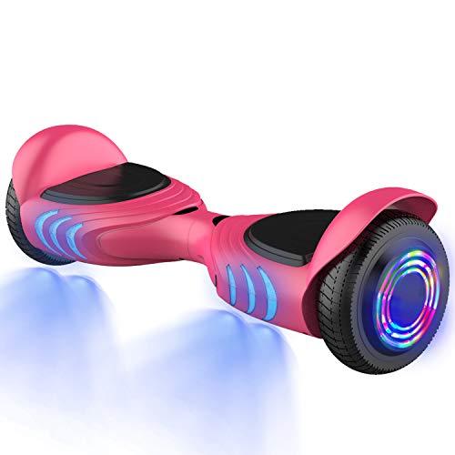 GeekMe Scooter Elettrico 6.5 '' due Motori 2 ruote Board Hover Auto Bilanciamento Scooter UL 2272...