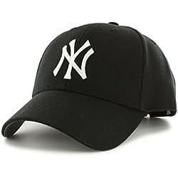 ´47 Cap MLB New York Yankees MVP, Black, OSFA, B-MVP17WBV-BK