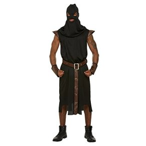 Adult Men's Historical Executioner Halloween Fancy Dress Party Costume Outfit by Blue Banana