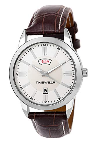 TIMEWEAR Day Date Functioning Watch for Men (Multi-Colour)