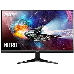 Acer Nitro QG221Q 21.5 Inch Full HD Gaming Monitor - VA Panel - 1 MS - 75 Hz - 250 Nits - AMD Free Sync - 1 X VGA 2 X HDMI (21.5 Inch)