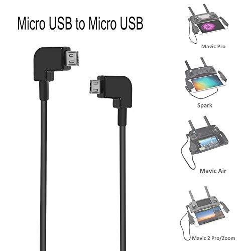O'woda Micro USB ad Android Micro USB Cavo Dati Cavo da 90 Gradi per DJI Mavic Mini / PRO / Mavic...
