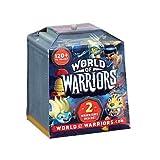 World of Warriors - 2-Pack - 2 Mini-Figurines de Guerriers + 1 Temple - Modèle Aléatoire